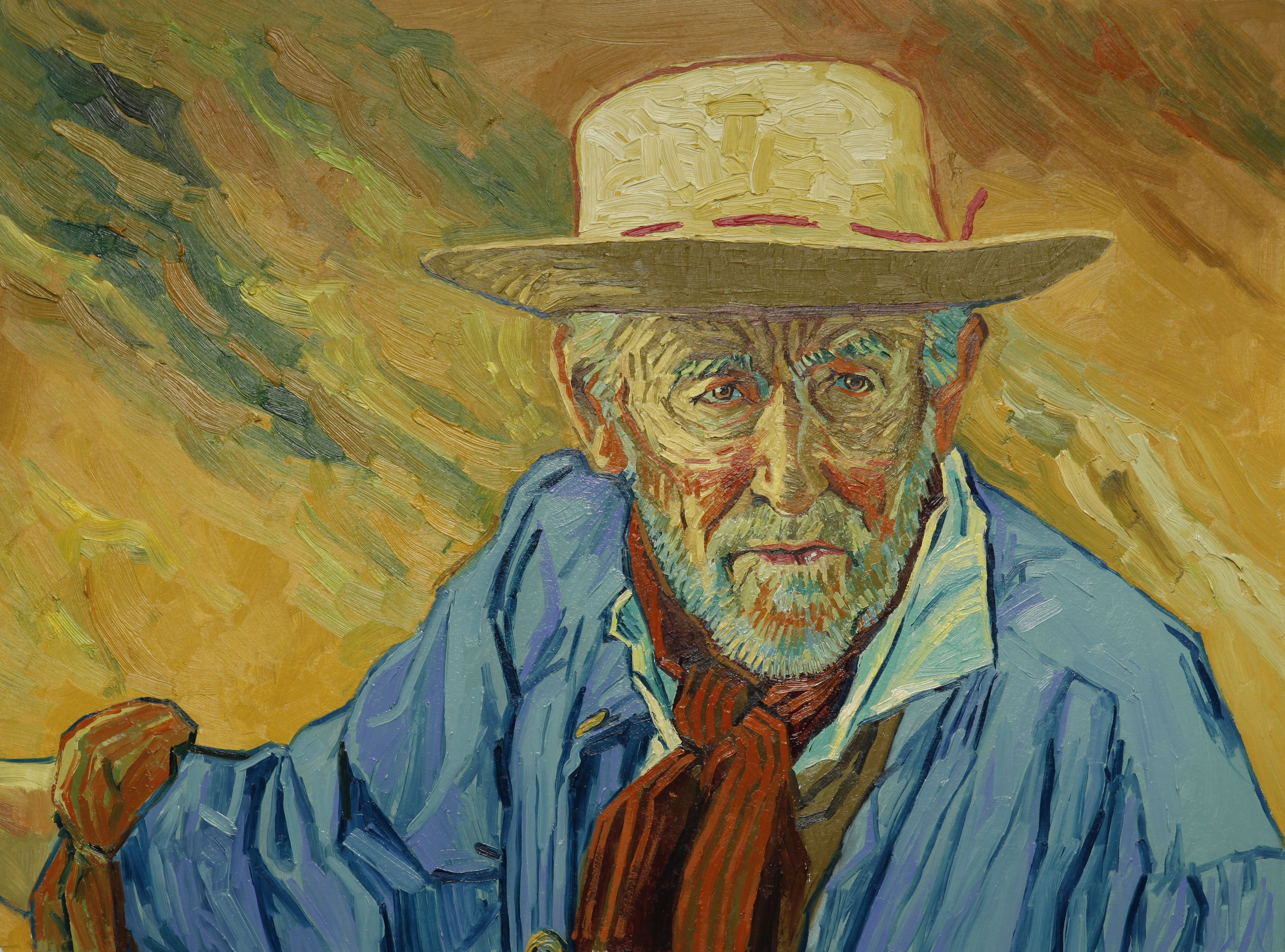 Loving vincent the world s first fully painted feature film for Van gogh paintings locations
